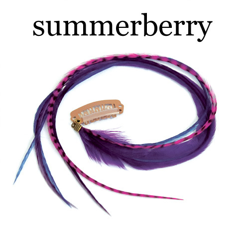 Quill Clips - summerberry:  (© )
