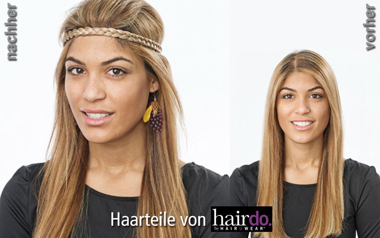 Haarteile von hairdo - French Braid Band (© Great Lengths)