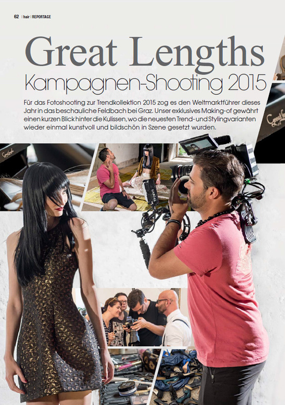 Great Lengths Kampagnen-Shooting 2015, s.62:  (© )