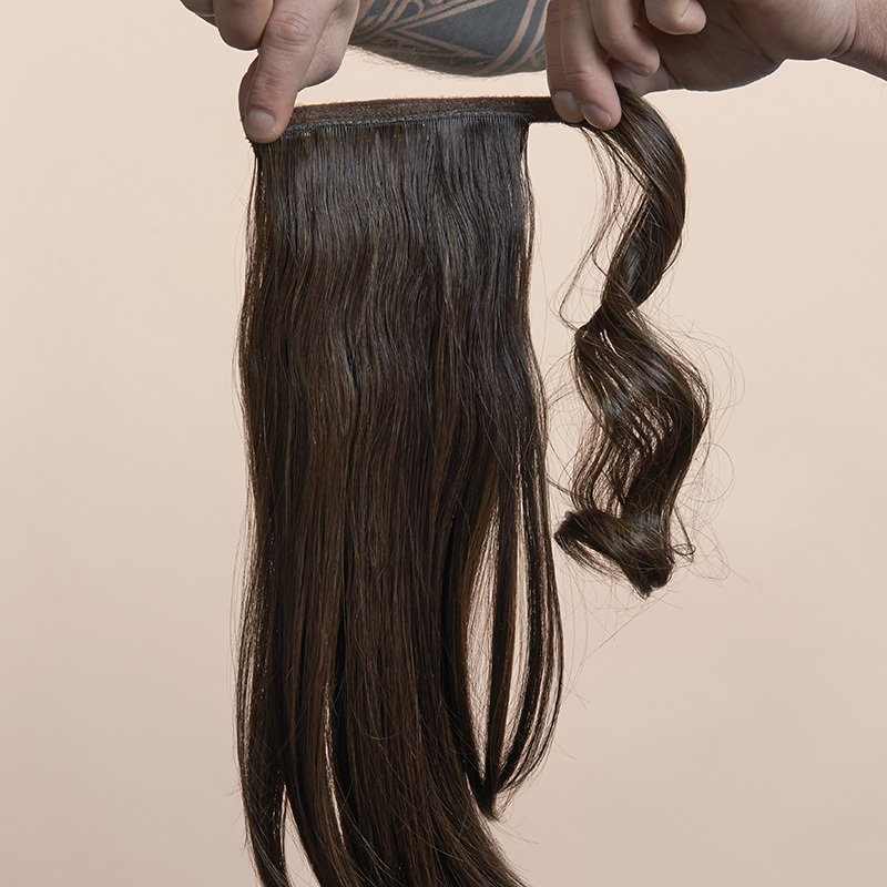 Simply Straight Pony Vorderseite, Sujet 1292:  (© © Great Lengths)