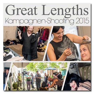 DFM - Great Lengths Kampagnenshooting 2015 (© DFM - Friseurmagazin)