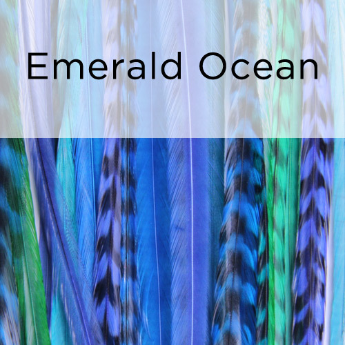 Emerald Ocean - Featherlocks:  (© )