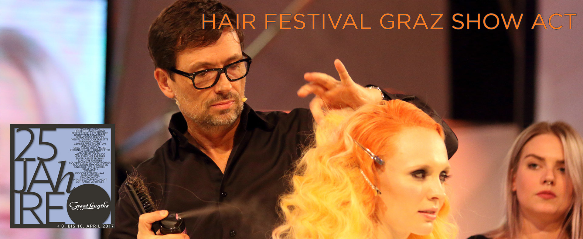 Das HAIR Festival Graz: Show Act (© Great Lengths)