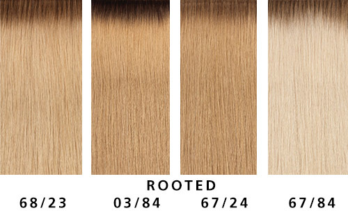 NEUE ROOTED STRÄHNEN  (© Great Lengths)