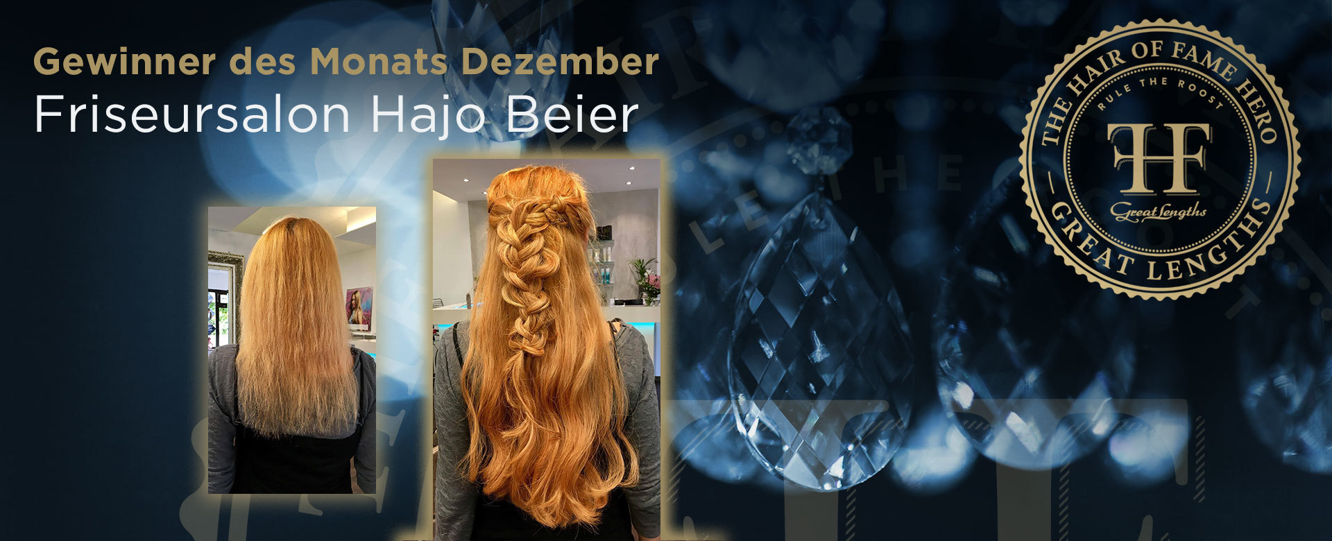 Hair-of-Fame Hero Monat Dezember 2017 (© Great Lengths)