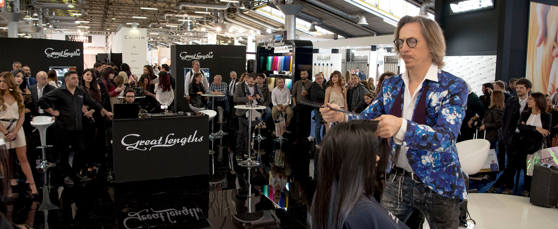 Cosmoprof 2018 Bologna (© Great Lengths)