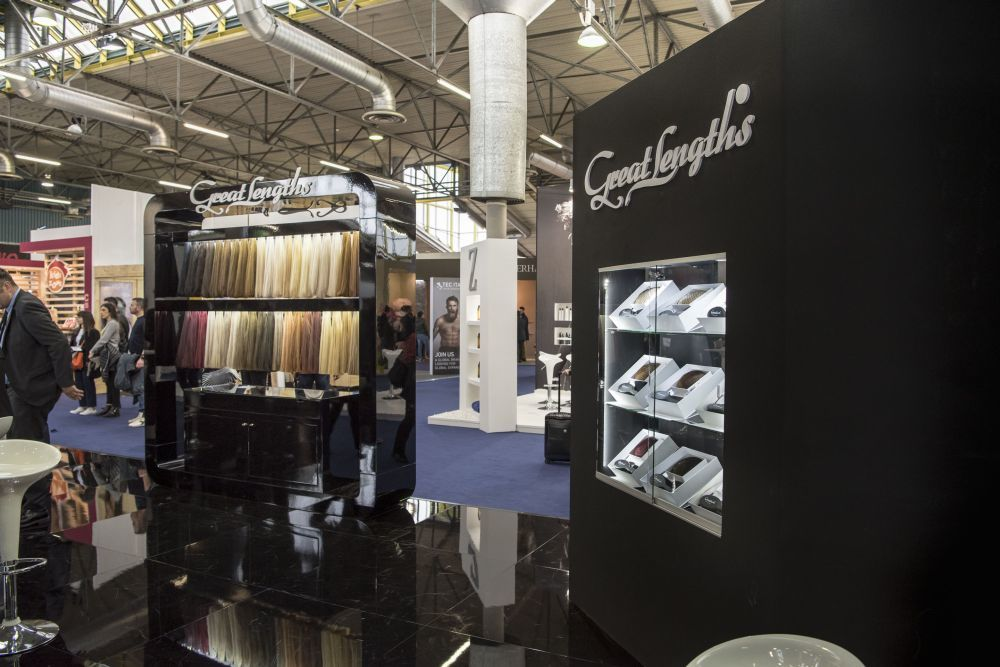 Great Lengths auf der Cosmoprof 2018:  (© )