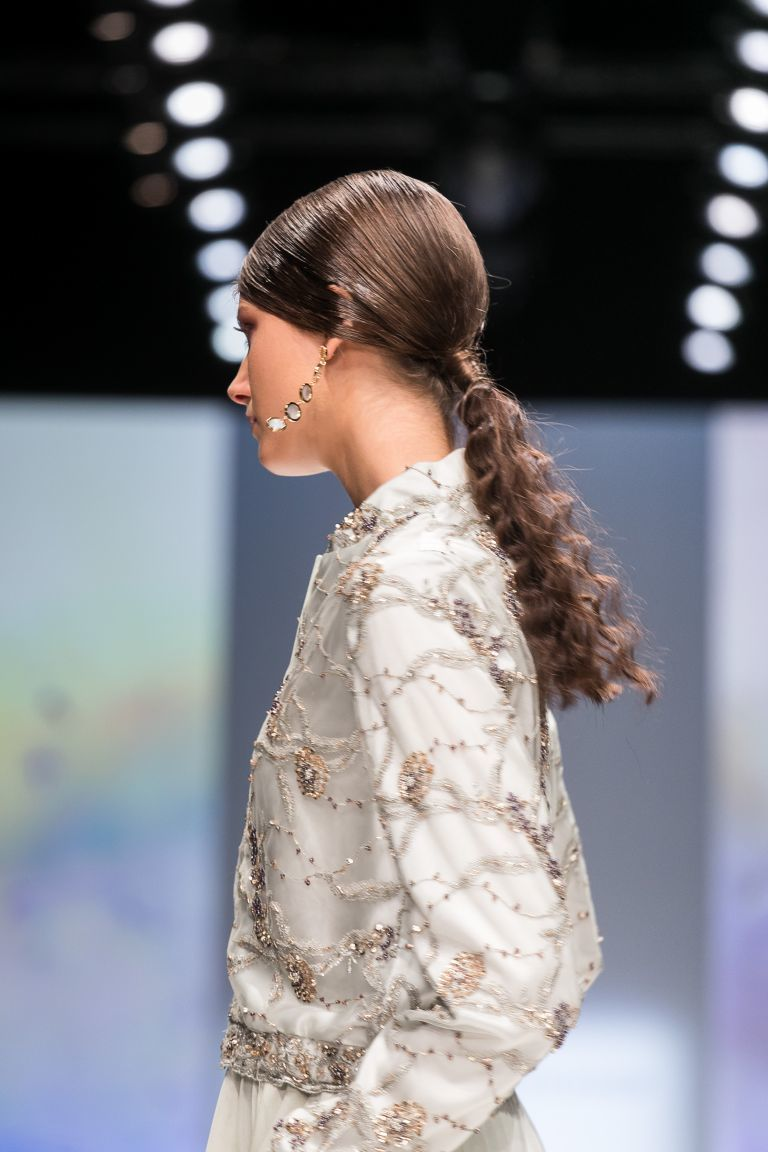 Head of Hair André Märtens auf der Fashionweek Berlin:  (© )
