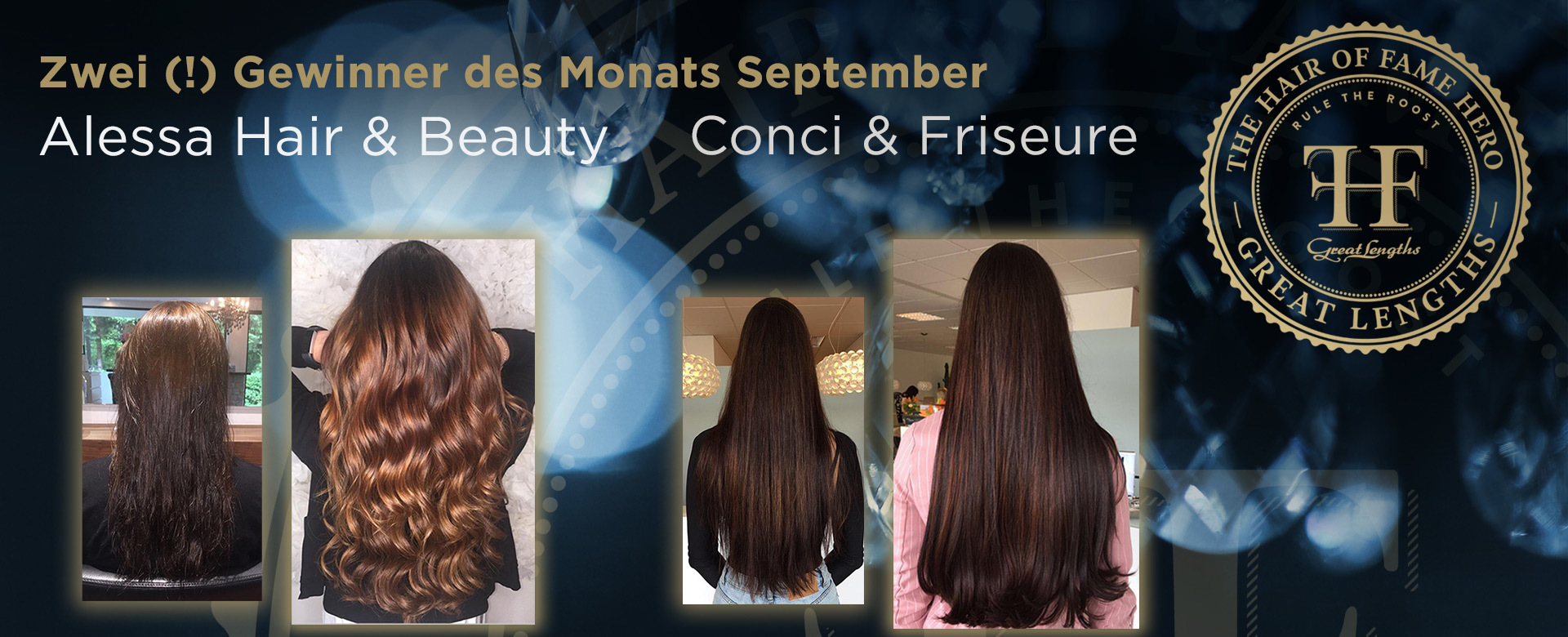 Hair-of-Fame Hero Monat September 2018 (© Great Lengths)