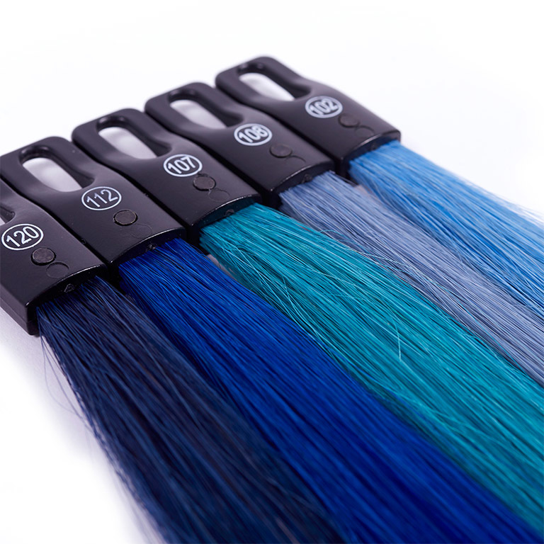 Classic Blue - Farbenvielfalt bei Great Lengths:  (© Great Lengths)