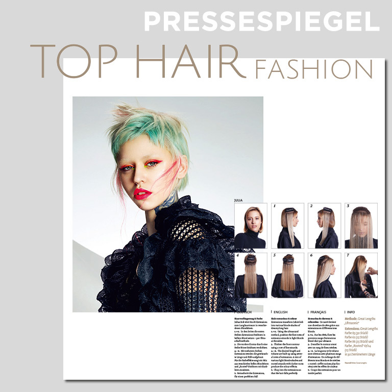 TOP HAIR FASHION, Ausgabe 15-16/2020 (© TOPHAIR FASHION)