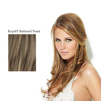 CLIP IN LONG BRAID R1416T buttered toast